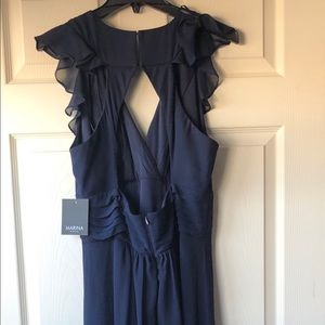 NWT Marina navy blue dress